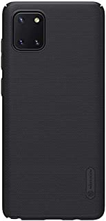 Nillkin Super Frosted Shield Ultra Thin Hard Plastic Matte Back Cover Case for Samsung Galaxy Note 10 Lite (Black)
