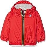 K-Way Le Vrai 3.0 Claudine Orsetto Abrigo Impermeable, Rojo (Red K08), 92 (Talla del Fabricante: 24M) para Bebés