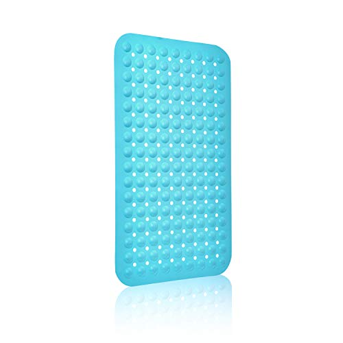 ORSJA Shower Mat Non Slip, Silicone Non-slip Bath Mats Machine Washable,Bathtub Mat with Suction Cups Fit for Bathroom & Baby Shower