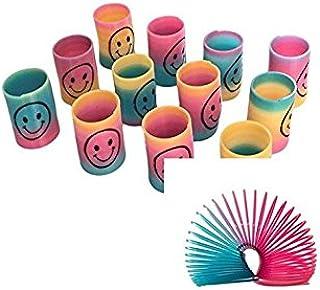Newin Star 6 Stück Mini Smiley Springs Party Tasche Füllstoffe Hochzeit Kinder Spielzeug Preis Halloween Weihnachten