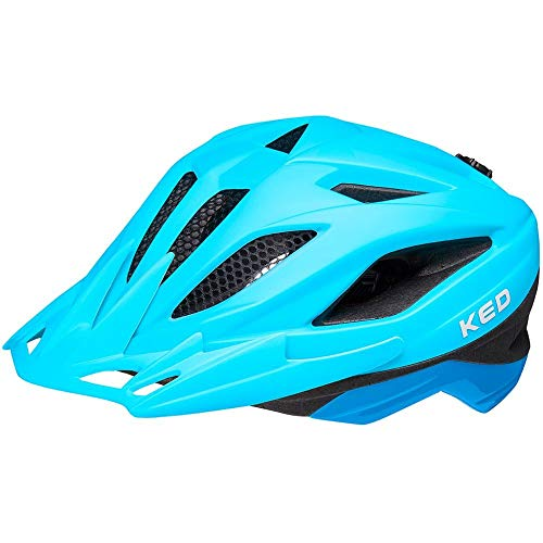 KED Street Jr. Pro Helm Kinder Blue matt Kopfumfang M | 53-58cm 2021 Fahrradhelm