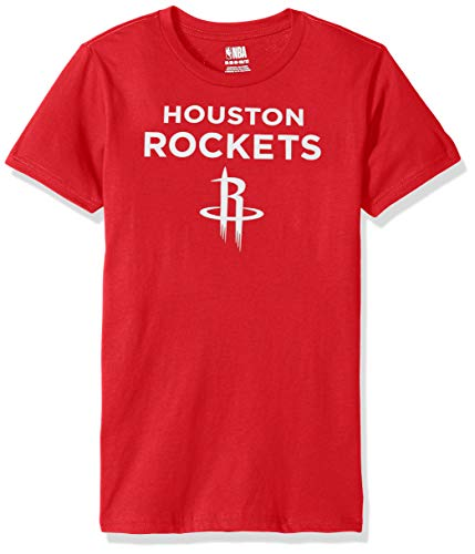NBA by Outerstuff NBA Youth Boys James Harden Basic Short Sleeve Name and Number Tee, Red, Youth Medium(10-12)