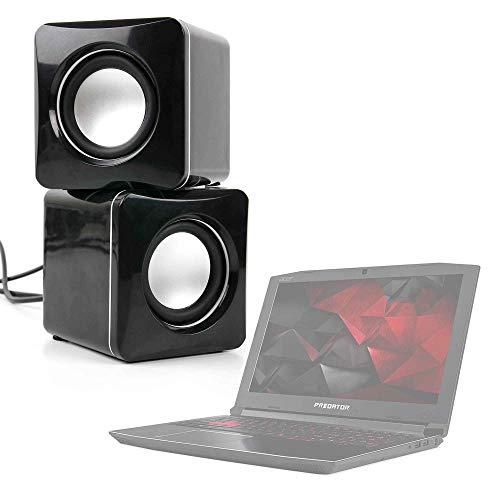 DURAGADGET Altavoces Compactos para Portátil Acer Aspire 3 A315-41-R8ZC, Acer Predator PH315...