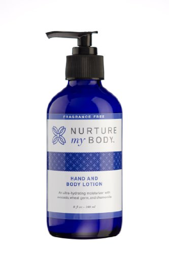 Nurture My Body Organic Hand and Body Lotion for Sensitive Skin - Excellent for Daily Use! - Good for Sensitive, Dry, and Normal Skin