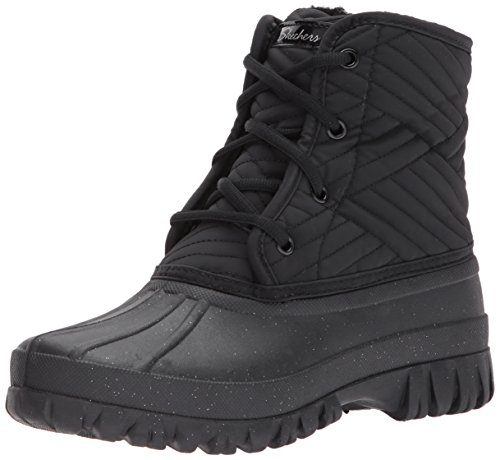 Skechers Damen Windom Stiefel, Schwarz (Black), 37 EU