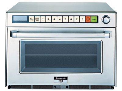 Panasonic NE-2180 2100 Watt Commercial Microwave Oven with Sonic Steamer