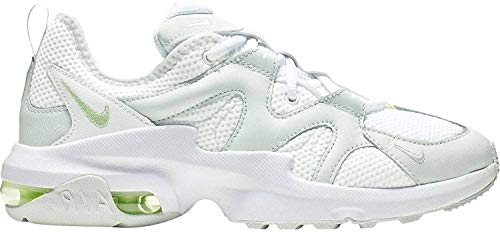 Nike Damen AIR MAX GRAVITON Laufschuhe, Weiß (White/Barely Volt-Ghost Aqua 102), 36.5 EU