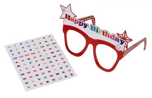 Talking Tables HB-Glasses Minuteur de Cuisine, Rouge