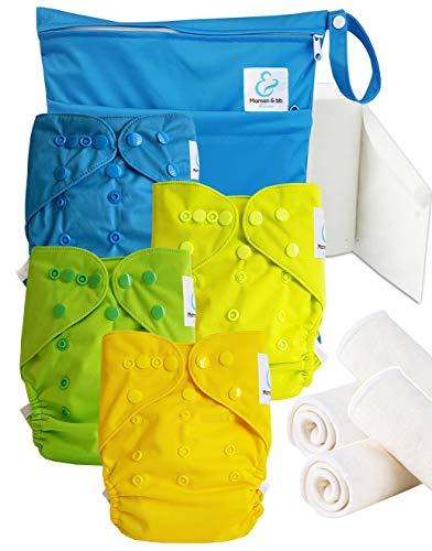 Maman et bb Nature - Start and Go TE2 - Kit 4 couches lavables TE2 - Little Boy