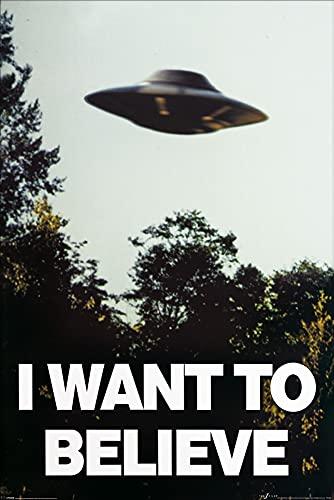 1art1 X Files - Voglio Crederci Poster Stampa (91 x 61cm)