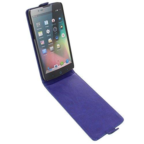 foto-kontor Tasche für ZTE Blade L3 Plus Flipstyle Schutz Hülle Handytasche blau