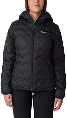 Columbia Women s Delta Ridge Down Hooded Jacket Black Large product image