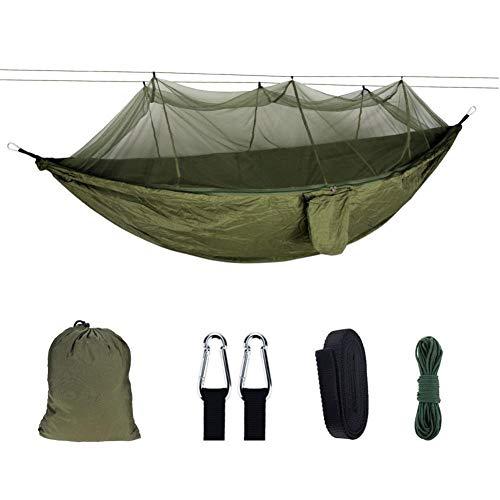 YHDNCG Hammock Portable Outdoor Mosquito Net Hammock Nylon Anti-Mosquito Hammock, Hammock with Mosquito Net