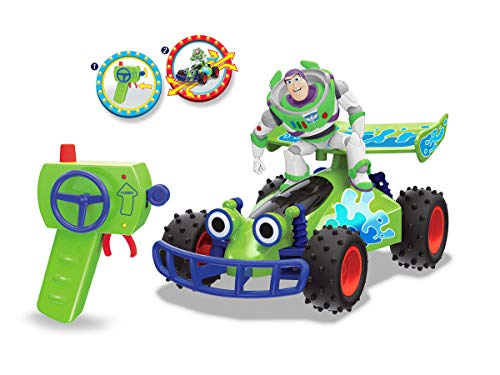Dickie Toys RC-Fahrzeug Toy Story Buggy mit Buzz-Figur, ferngesteuertes Auto mit Turbo-Funktion, 1:24, 20 cm