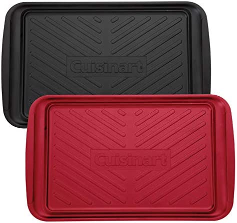 Cuisinart CPK 200 Grilling Prep and Serve Trays Black and Red product image