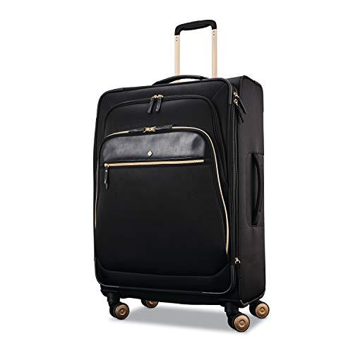 Samsonite Women's Mobile Solution Business Travel (Black, Expandable 25-inch Spinner)