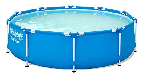 Bestway Steel Pro Framepool zonder pomp, rond, 305 x 76 cm zwembad, blauw