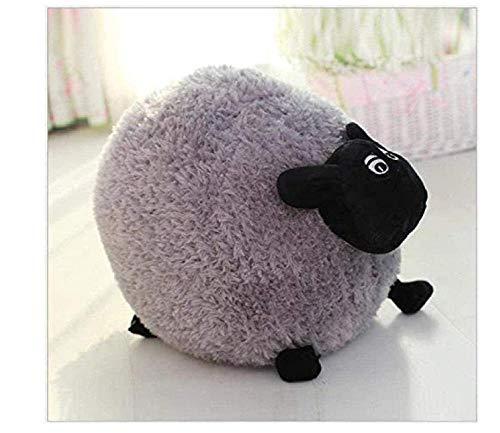 Knuffels gevulde katoenen dieren schapen Shaun pluche poppen Valentine S Day speelgoed kinderspeelgoed 20 cm grijs kerst