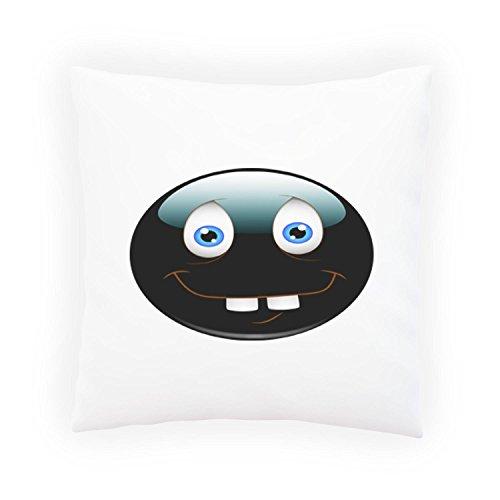 INNOGLEN Smile Dumb Face Lustige Neuheit Dekoratives Kissen, Kissenbezug mit Einlage/Füllung oder ohne, 45x45cm a495p