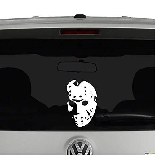 SUPERSTICKI® Jason Hockey Masker Horror ca 20 cm Sticker Decal uit high-performance film Sticker Tuning Sticker Racing Sticker Racing Sticker High Performance