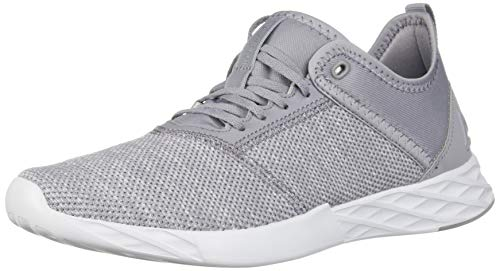 Reebok Women's Astroride Edge Running Shoe, Knit-Cool Shadow/SPRT White, 11 M US