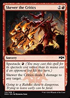 Magic: The Gathering - Skewer The Critics - Ravnica Allegiance