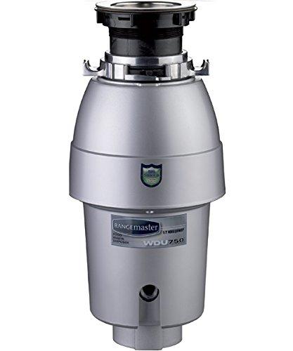 Rangemaster WDU500/ Unità di smaltimento dei rifiuti, Nero, WDU750