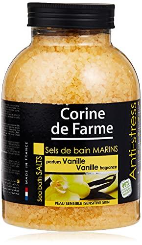 Corine De Farme Natural Sea sali Anti-Stress sali da bagno con vaniglia 1.3kg