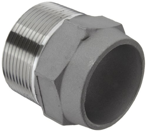 Dixon FMS1500 Stainless Steel 304 Pipe and Welding Fitting, Hex Nipple, 1-1/2