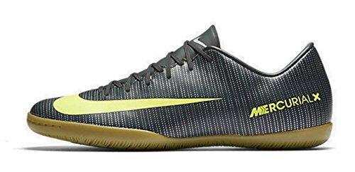 Nike Unisex-Erwachsene MercurialX Vapor XI CR7 IC JR 852488 37 Fußballschuhe, Mehrfarbig (Indigo 001), 36.5 EU