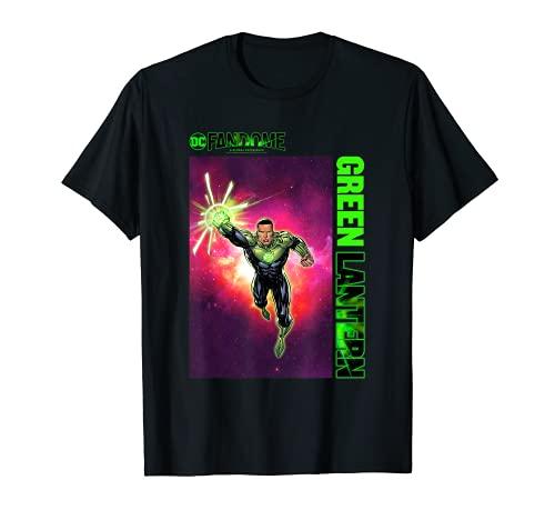 DC Fandome Linterna Verde Pose Camiseta