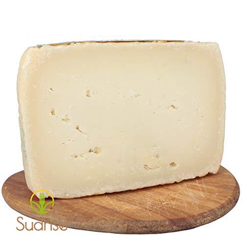 Formaggio Canestrato della Basilicata Lucano | Taglio da 1,2kg | Prodotto con latte della Basilicata | Stagionatura 2-3 mesi
