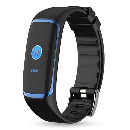 GLDMT P9 Farb-Bildschirm Smart-Armband Herzfrequenz Blut Sauerstoff HRV-Atmungsermüdung Herzüberwachungsalarm Überwachen Sie Den Multifunktionssport Im Freien Intelligentes Armband,A