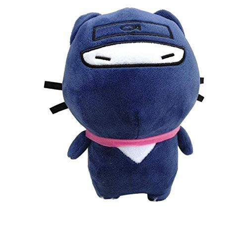 Cartoon Anime Cat Ninja Knuffel Spel Pop Knuffel Verjaardagscadeau voor kinderen Jongens 21 cm Kerstmis