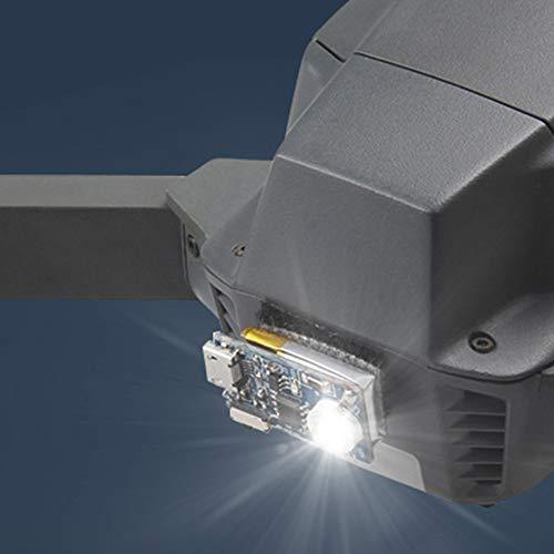 Lámpara estroboscópica LED recargable de repuesto, intermitente, luces de vuelo nocturno, de seguridad, de advertencia de emergencia para drones DJI Mavic Air/Pro Spark Phantom