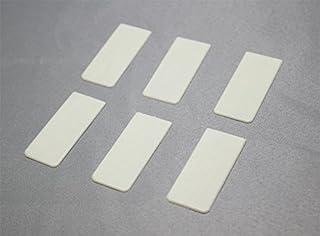 Piano Keytop Heads Simulated Ivory - Set of 6 - Piano Key Re