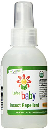 Lafe's Baby Organic Insect Repellent, 4 Ounce