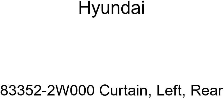 store HYUNDAI Genuine 83352-2W000 Under blast sales Rear Curtain Left