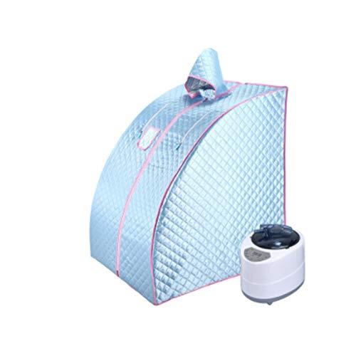 Upupto Tragbare Dampf Sauna Home Sauna Generator Abnehmen Haushalt Sauna Box Leichtigkeit Schlaflosigkeit Edelstahl Rohrstütze Dampfer