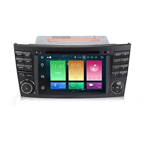 Android 9.0 Car DVD Radio 8 Core 4G RAM 64G ROM IPS DSP GPS Navigation for Mercedes Benz E-Class/W211 E200 E220 E240 CLK/W209 CLS/W219 W463
