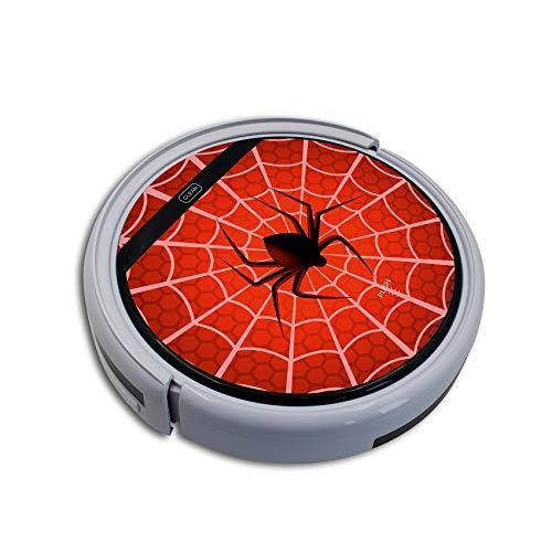 Finest Folia - Protector de pantalla para robot aspirador (autoadhesivo, compatible con Spider, (RX020) Medion MD 18501)