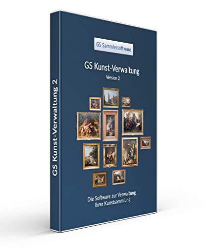 GS Kunst-Verwaltung 2 - Software für Kunstsammler - Datenbank Programm für Gemälde, Grafiken, Skulpturen und Plastiken