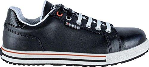 COFRA moderner Sicherheitsschuh, ASSISTund Field S3 SRC, im Sneaker-Look aus der Old Glories Serie (43, schwarz)