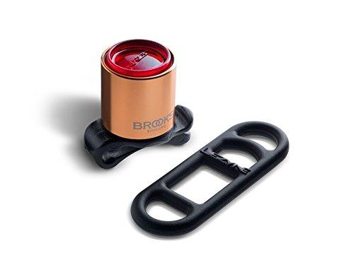 Brooks England Femto Taillight, Copper Finish