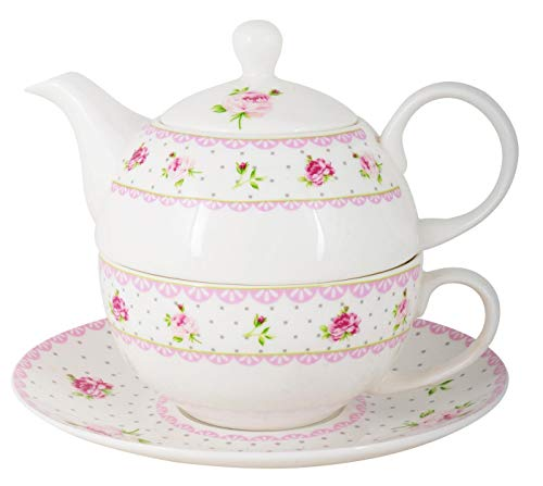 IB Laursen Tea for one Cottage Rose