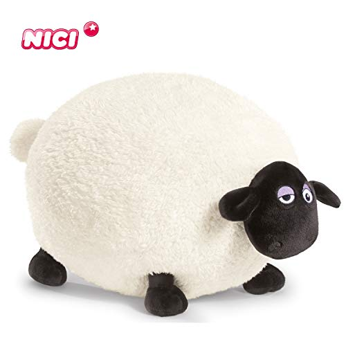 Nici 39657 Shaun the Sheep pluche, wit