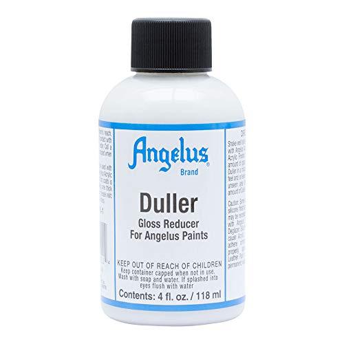 Angelus Leather Paint, Duller, 4 ounce bottle (722-04-000)