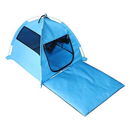 Schimer Pop-Up Zelt für Haustiere, Zelt für Katzen und kleine Hunde, Pet House zusammenklappbar Cat House wasserfest tragbar Pet Zelt für Hunde Kätzchen und Moggies Indoor Outdoor Kleine Tiere Shelter