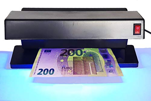 Star Detector de billetes falsos UV TK-2028, color negro