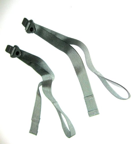 2 ACU Molle Main & Assault Pack Lower Quick Release Straps with Male Buckle